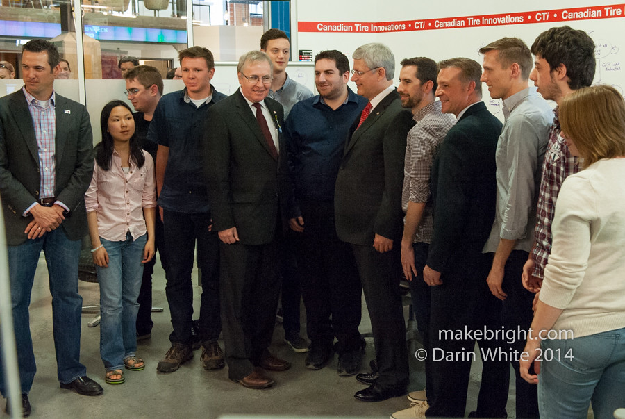Prime Minister at Communitech - June 2014 196