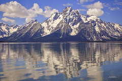 IMG_0125 Grand Teton Jackson Lake (Alex Hsieh (椰子人)) Tags: summer lake reflection canon grand roadtrip jackson teton grandteton 6d 2014 grandtetonnationalpark canon6d ç´è²