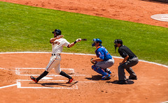 Brandon Hicks at bat (phoca2004) Tags: sanfrancisco california unitedstates sfgiants mlb nymets attpark brandonhicks