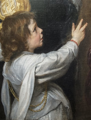 Van Dyck (detail) (Martin Beek) Tags: detail painting fineart detroit dia study arthistory oilpaint detroitinstituteofarts
