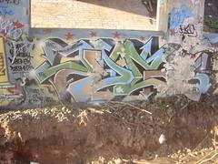 DG AT THE TRACKS. rip (total annihilation) Tags: nyc art graffiti rip oldschool piece dg