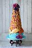Croquembouche tower (Ben The Cake Man) Tags: weddingcake peonies croquembouche chocolateweddingcake vintageweddingcake bespokeweddingcake birminghamweddingcake westmidlandsweddingcake benthecakeman