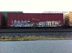BLOCH BATLER (FreightBreed666) Tags: train graffiti bloch 663k batler ripbatler