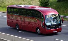 Bennetts of Kilwinning Sideral JIB3032 (andyflyer) Tags: bus coach bennetts kilwinning sideral coachtour coachtravel bennettsofkilwinning jib3032