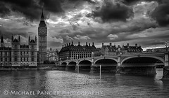 Parliament,  Big Ben, Westminster Bridge B&W (Michael Pancier Photography) Tags: sunset england london westminster unitedkingdom parliament bigben gb riverthames westminsterbridge commercialphotography naturephotographer michaelpancierphotography landscapephotographer fineartphotographer michaelapancier wwwmichaelpancierphotographycom