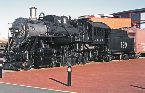 Steamtown Illinois Central Railroad 2-8-0 Consolidation