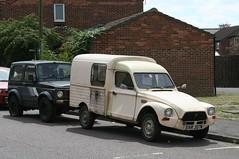 1981 CITROEN DYANE VAN (shagracer) Tags: classic cars car french au citroen ami 2cv vehicle van dyane azu acadiane fourgonnette svr307w