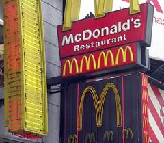 McDonald's, Times Square (Dan_DC) Tags: city nyc newyorkcity urban food newyork sign corporate neon symbol manhattan fastfood stock mcdonalds midtown business company ingredients license editorial diet consumerism branding symbolic brands consumer rf nutrition calories imagebank nourishment royaltyfree urbanscene symbolize flatfee foodanddruggroup