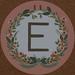 Garland Letter E