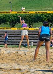 2014-08-04 BBV Women's Doubles (52) (cmfgu) Tags: baltimore beach volleyball bbv maryland md innerharbor rashfield sand league ball net court sports outdoor doubles 2s womens girls athlete woman girl female craigfildesfineartamericacom