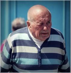 Stripes (1980blue Street) Tags: street old man male guy candid vale mature glamorgan aged penarth bloke pensioner windsorroad