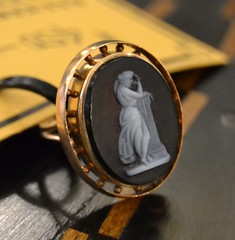 """Gold Intaglio Ring • <a style=""""font-size:0.8em;"""" href=""""http://www.flickr.com/photos/51721355@N02/14737285735/"""" target=""""_blank"""">View on Flickr</a>"""