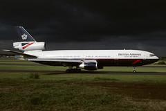 G-MULL.PIK1995copy (MarkP51) Tags: aircraft aviation douglas britishairways prestwick pik dc10 egpk gmull