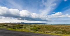 North Iceland Landscape (Wolfhowl) Tags: trip summer mountains nature june landscape iceland fjords 2014 літо ісландія червень