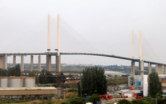Queen Elizabeth II Bridge (MJ_100) Tags: road uk bridge england london thames river kent riverthames essex qeii dartford queenelizabethii dartfordcrossing