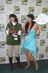 SDCC 2014 JPEG 1694 (Photography by J Krolak) Tags: california costume cosplay sprite pixie fairy link masquerade navi legendofzelda comiccon2014 sdcc2014 sandiegocomiccon2014