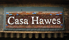 Casa Hawes: House Name Sign for a 30th Anniversary (Nutmeg Designs) Tags: sign casa housename anniversarypresent nutmegdesigns