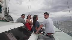 254140_221840794501839_100000277611648_881006_7751016_n - Copy (lizmccarty) Tags: liz me hawaii caroline maui will billy 2011 sunsetsail
