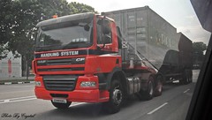 Daf CF 85.460 (Waverly Fan) Tags: port truck system gateway psa inter haulage handling