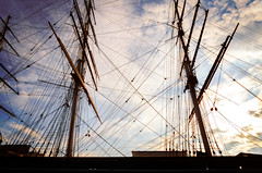 Masts and Ropes (garryknight) Tags: london nikon ship greenwich rope explore cuttysark sheet mast clipper lightroom lanyard 1855mmvr d5100 perfectphotosuite