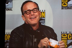 Clark Gregg (Phil Coulson) (kawaii_ninja) Tags: san comic panel diego center international convention shield marvel con agents 2014