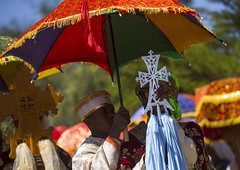 Ethiopian Orthodox Priests Holding Sacred Crosses During The Colorful Timkat Epiphany Festival, Lalibela, Ethiopia (Eric Lafforgue) Tags: africa travel people men church umbrella religious outdoors photography clothing worship day cross religion multicoloured parade christian unescoworldheritagesite unesco event textile parasol devotion sacred crucifix males destination mystical ritual priest christianity spirituality tradition ethiopia ornate spiritual multicolored orthodox cultures pilgrimage worshipper religiouscelebration coptic developingcountry traditionalculture orthodoxy epiphany ethiopian eastafrica placeofworship mysticism worldculture traditionalclothing realpeople traveldestinations traditionalfestival onlymen colorpicture timket maturemen timkat traditionalceremony onlymaturemen copticchristianity colourpicture timqat publiccelebratoryevent religiousequipment ethio1407462