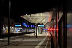 Salzburg Hauptbahnhof by night (mcorreiacampos) Tags: salzburg austria reflex sterreich nacht bahnhof architektur noite contemporaryarchitecture architekur archidose zeitgenssischearchitektur archdaily