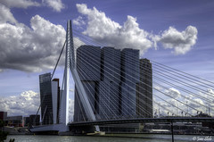 de Rotterdam (Janslb) Tags: city bridge sky holland building netherlands rotte