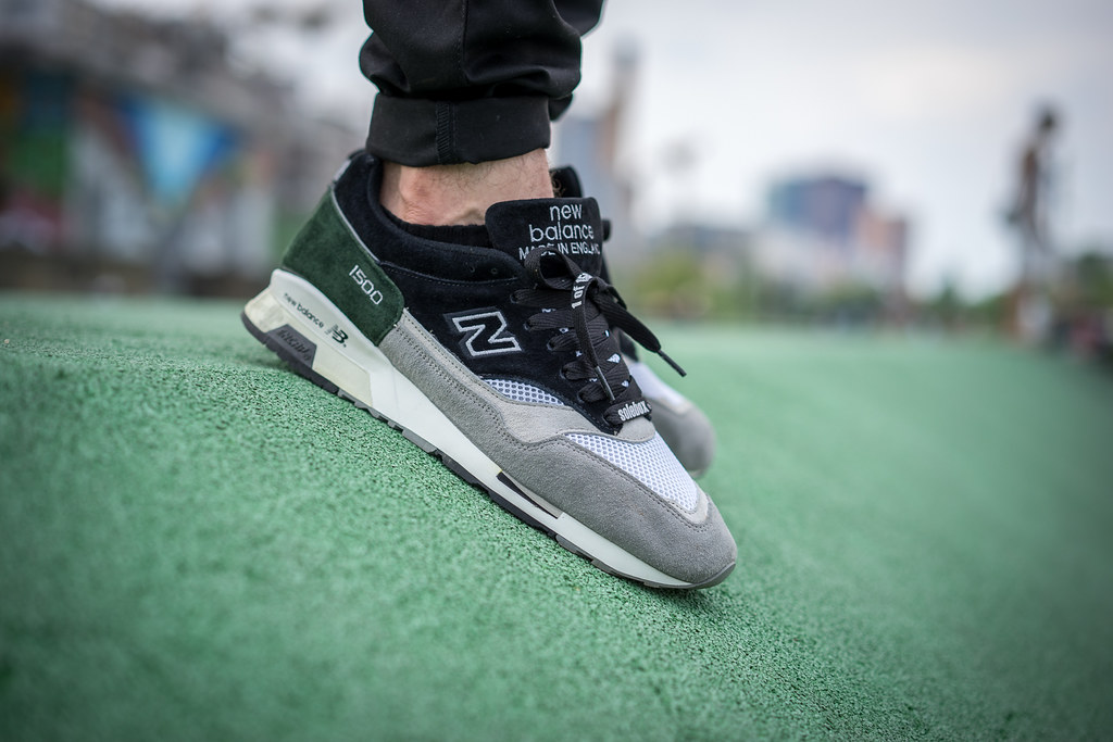 new balance 1500 on feet