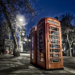 Booths and Ben (Geoff Billing) Tags: uk london westminster nightshot bigben hdr