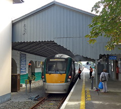 Killarney Co. Kerry Ireland 3rd September 2014 (loose_grip_99) Tags: railroad ireland station train diesel transport rail railway trains kerry september transportation killarney railways trainshed terminus 22311 2014 dmu cie cokerry class22000