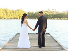 Lakeside wedding (Selene Adams Photography :]) Tags: wedding 50mm groom bride nikon riverside lakeside southerncalifornia elopement d600 nikond600