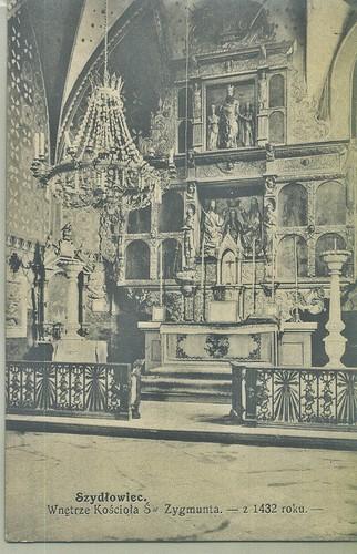 Ołtarz w kościele św. Zygmunta