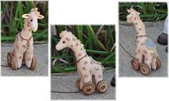 The Giraffe (Tiny Paws) Tags: toy doll handmade maurice bjd giraffe pulltoy kayewiggs