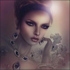 ~Shelby~ (Pam Astonia) Tags: life flowers photos jewelry second redheads updos paintedflowers
