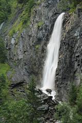 Cascade de la Muzelle (Ruddy Cors) Tags: longexposure water alpes river waterfall nikon eau stream rivire torrent fil poselongue d300s