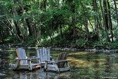 The place to be in the summer (Joe Hengel) Tags: california summer vacation chair bigsur centralcoast adirondack bigsurriverinn