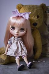 hey diddle diddle (JennWrenn) Tags: pink hair model doll little blythe custom mim nurseryrhyme oldteddybear stellasavannah