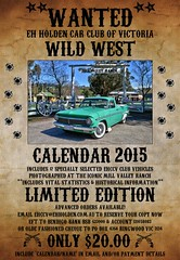 EH Holden Car Club of Victoria Calendar 2015 (Stephen Kinna Photography) Tags: ranch original wild west classic mill eh car club poster flyer calendar australian australia victoria valley modified wanted 1960s ej reward wildwest holden 1964 1965 1963 gippsland 2015 ehholden holdeneh tynongnorth millvalleyranch ehccv