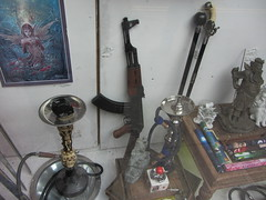 A Gun In A Shop Window In Glasgow Scotland - 1 Of 2 (Kelvin64) Tags: window shop scotland gun glasgow in a