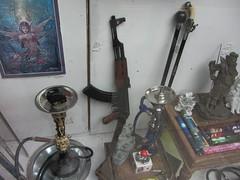 A Gun In A Shop Window In Glasgow Scotland - 1 Of 2 (Kelvin64) Tags: window shop scotland gun glasgow in a