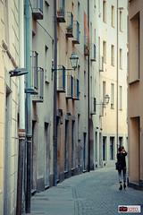 Torino solitaria (OkFoto.it) Tags: street windows tourism girl torino hidden tiny lonely turin x20 nascosta okfoto okfotoit