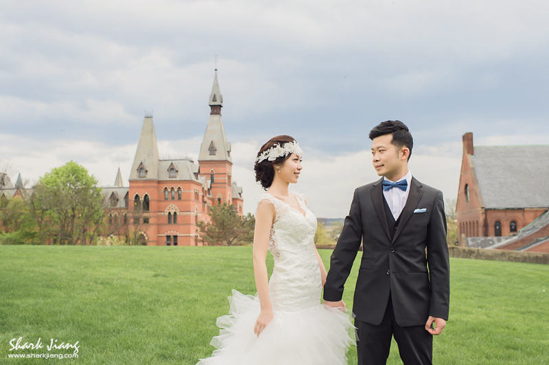 海外婚紗,康乃爾,婚攝鯊魚,美國婚紗,婚禮攝影