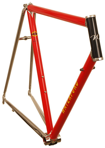 <p>22-Series with Stainless Lugs and Stays - in Intense Red.  This Road Sport design is perfect for the performance rider looking for a long distance steed.  There's nothing like the look of stainless steel.</p>
