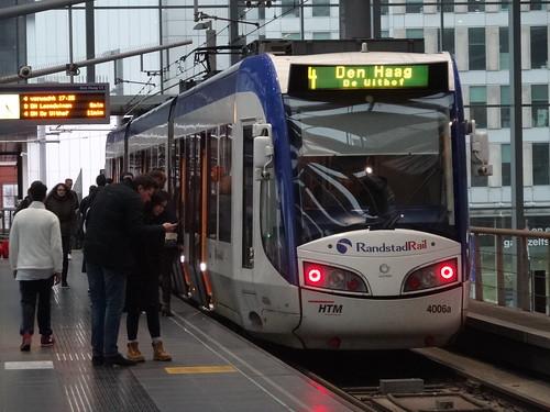 Den Haag: HTM RandstadRail Tram 4006