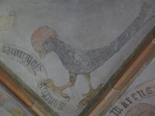 aigle symbolisant Saint-Jean