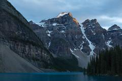 Peak Light (Ken Krach Photography) Tags: lakemoraine banffnationalpark