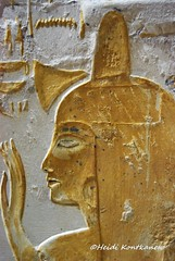 Beautiful Meryt (konde) Tags: 18thdynasty newkingdom mayaandmeryt saqqara tomb mayaandmerit ancient art treasure relief hieroglyphs yellow egypt