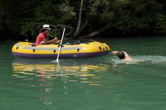 Schlauchboot ( Gummiboot ) auf der Rhne ( Fluss - River ) bei ... im Kanton Genf - Genve in der Schweiz (chrchr_75) Tags: water juni river boot schweiz switzerland boat wasser suisse swiss rhne christoph svizzera fluss jolla canot dinghy bote rhone schlauchboot 2014 suissa 1406 jolle gummiboot sloep chrigu schlauchboote  chrchr hurni chrchr75 chriguhurni chriguhurnibluemailch gummiboote juni2014 albumrhne hurni140603 albumrhone albumschlauchbootegummibooteunterwegsinderschweiz albumrhneflussriver