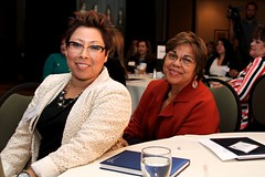 Gabriela Sandoval and Gloria Harrison